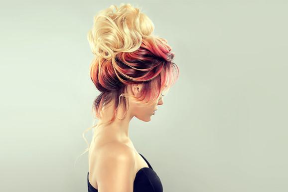 Окрашивание волос Лореаль