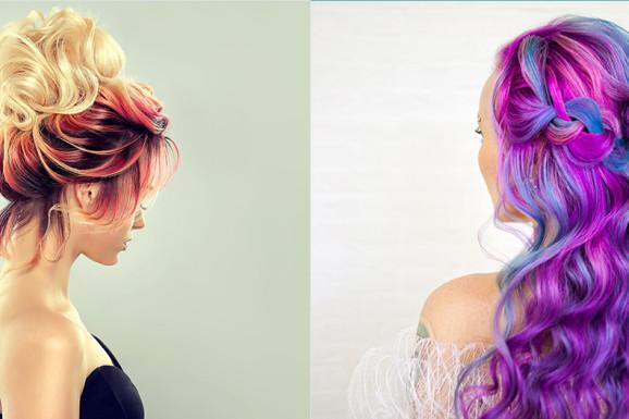 Способы окрашивания волос